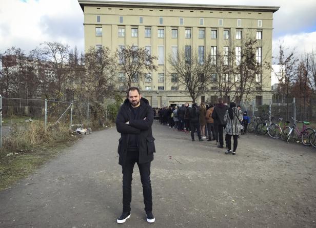 Markus Ornig und die Schlange vor dem Berghain
