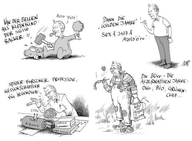 Die Van der Bellen Story…