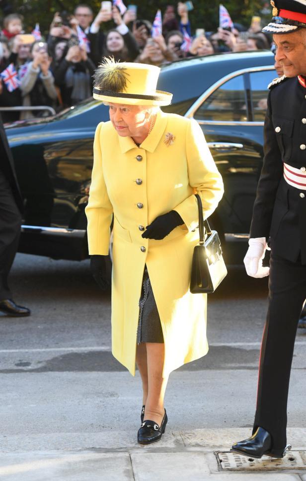 Queen Elizabeth II visits Goodenough College in Lo