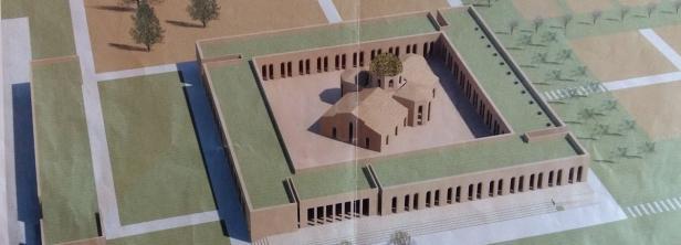 Plan des ersten orthodoxen Klosters in Österreich …