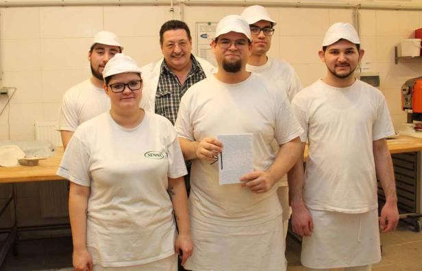 Bäcker-Lehrlinge, Jugend-Friedenspreis