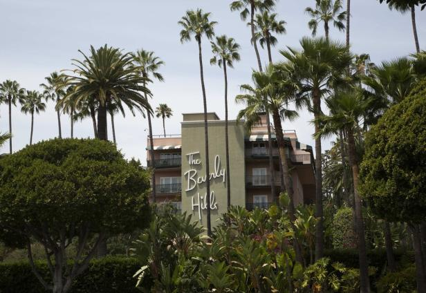 Beverly Hills Hotel, which is owned by the Sultan