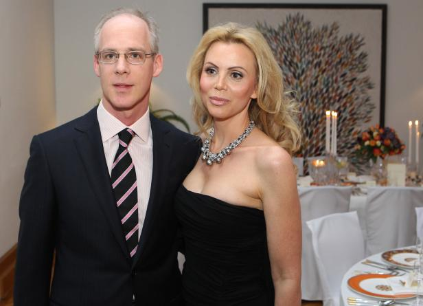 Georg Stumpf mit Freundin Patricia Schalko