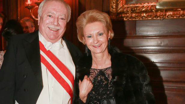 Mit Ehefrau Barbara Hörnlein