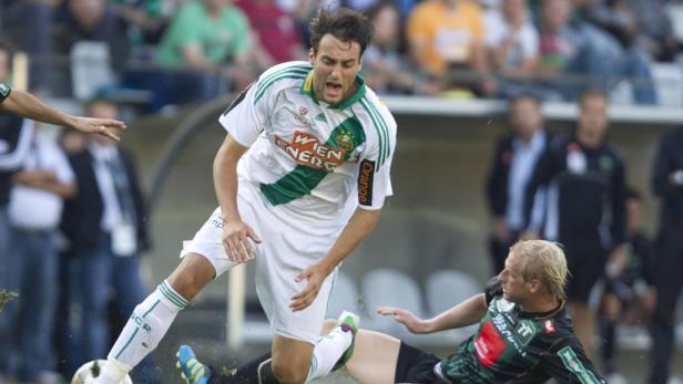Stolpergefahr: Die Innsbrucker sind ein unangenehmer Gegner. Beim letzten Aufeinandertreffen in Wien kam Rapid nur zu einem 0:0.