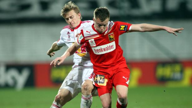 Bei Admira sind junge Spieler wie Thomas Weber die Regel, bei Salzburg ist Georg Teigl die Ausnahme.