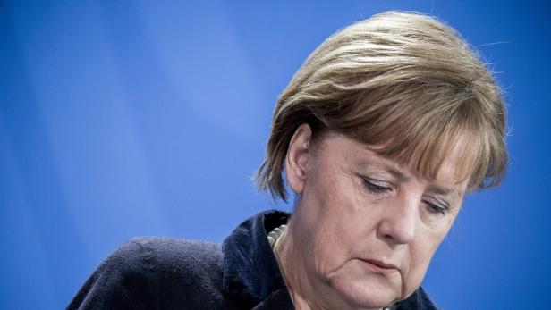 German Chancellor Merkel meets Romanian Prime Mini