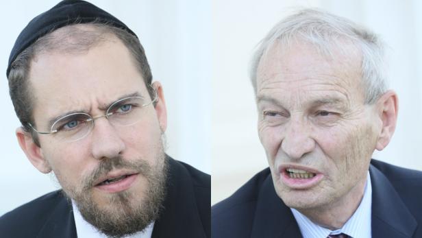 Kontrahenten Oberhummer und Hofmeister