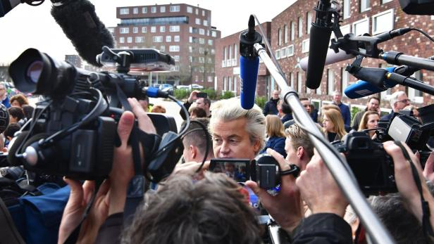 Mediales G'riss um Geert Wilders