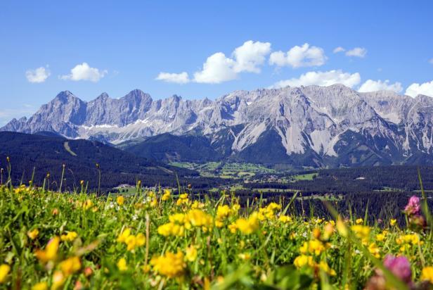 Die Ramsau und das Dachsteingebirge
