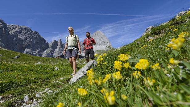 Silberregion Karwendel…