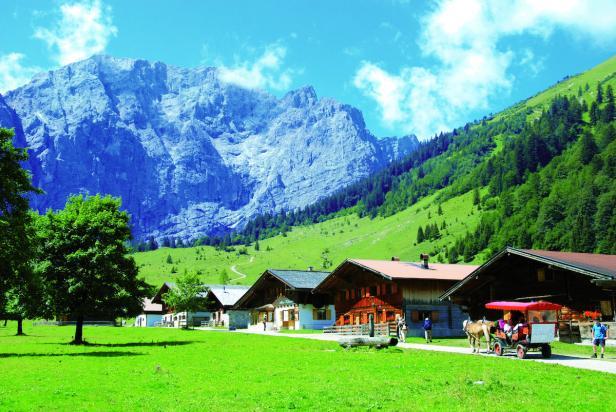 Silberregion Karwendel, ahornboden…