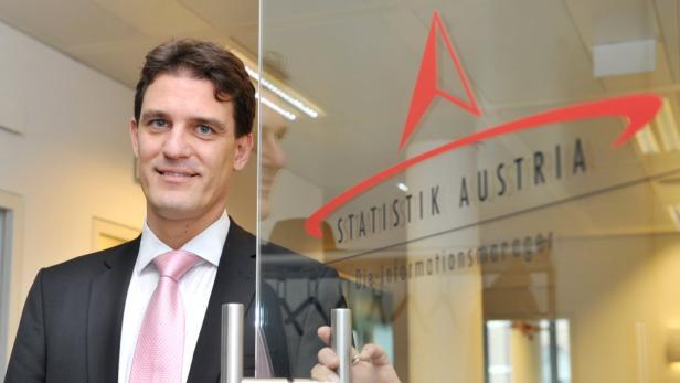 Statistik Austria-Generaldirektor Konrad Pesendorfer.