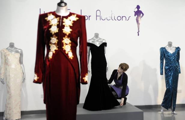 Kleider von Prinzessin Diana werden versteigert | kurier.at