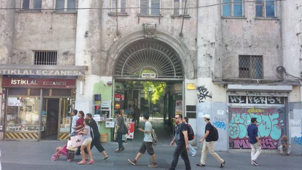 Das Haus der Österreichischen Kommission in Istanbul gibt es noch.