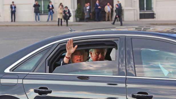 Prince Charles und Camilla in Wien