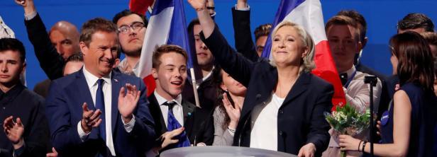 Le Pen: Bündnis mit Ex-Kontrahent Dupont-Aignan (li.)