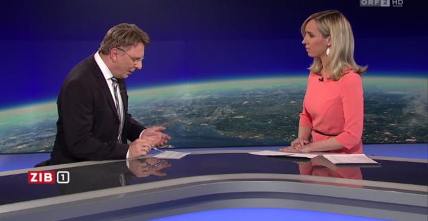 Chefredakteur Fritz Dittlbacher entschuldigte sich live auf Sendung.