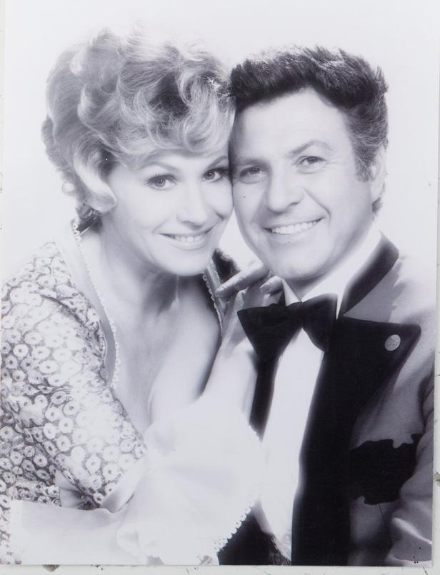 Mit Ehemann Erwin Strahl