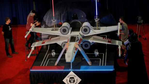 Robotik-Bewerb zum Thema 'Star Wars' am MIT