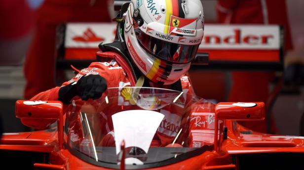 Formel 1: Vettel mit neuem Cockpitschutz