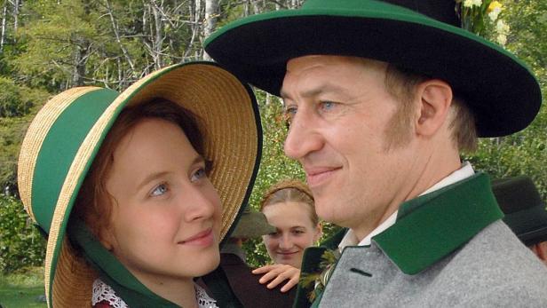 Tobias Moretti mit Anna Maria Mühe