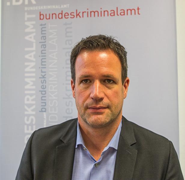 Andreas Holzer, Leiter des Büros für Organisierte Kriminalität im Bundeskriminalamt