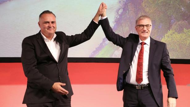 Hans Peter Doskozil und Walter Steidl.