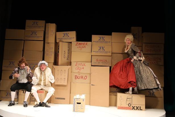 """Goldoni, """"Die neue Wohnung"""", Theaterherbst grenzenlos und Theater Forum Schwechat"""