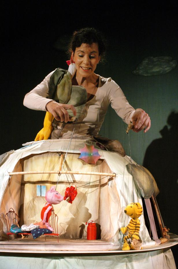 """""""Guten Tag, kleines Schweinchen"""" vom Theater Kokon (Weimar)"""