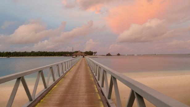 Malediven, Conrad Rangali Island…