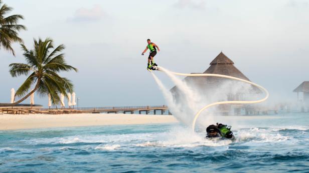 Malediven…