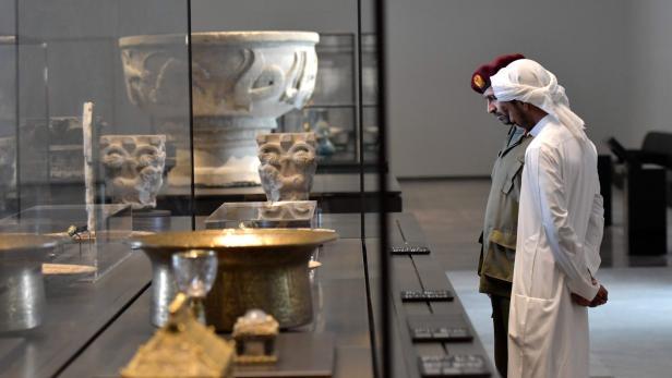 UAE-ABU DHABI-LOUVRE-CULTURE-ART-MUSEUM
