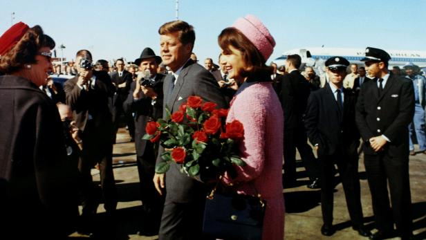 FILE PHOTO: President John F. Kennedy and first la