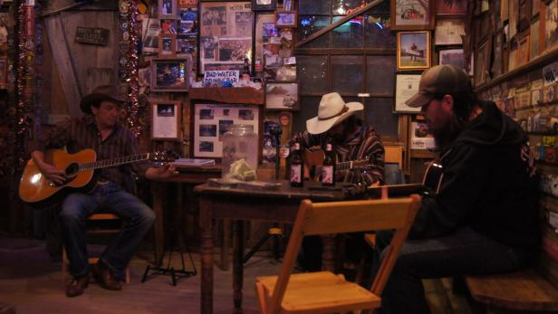 Blues Session in Luckenbach