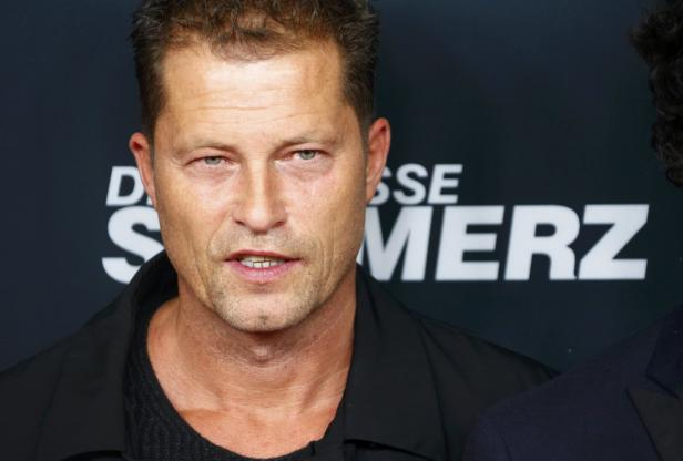 Actor Schweiger arrives for premiere of his new Ta