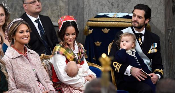 SWEDEN-ROYALS-CHRISTENING