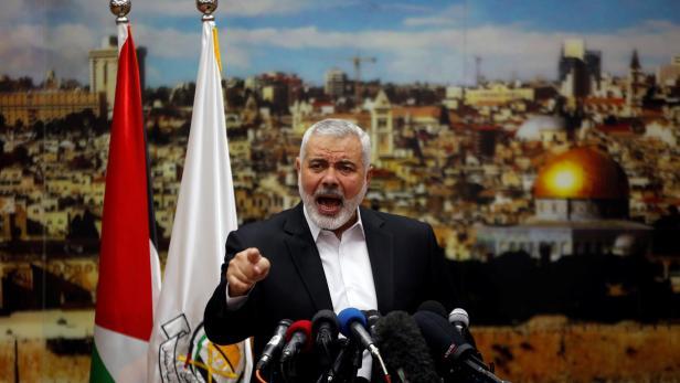 Bild: Anführer der Hamas: Ismail Haniyeh