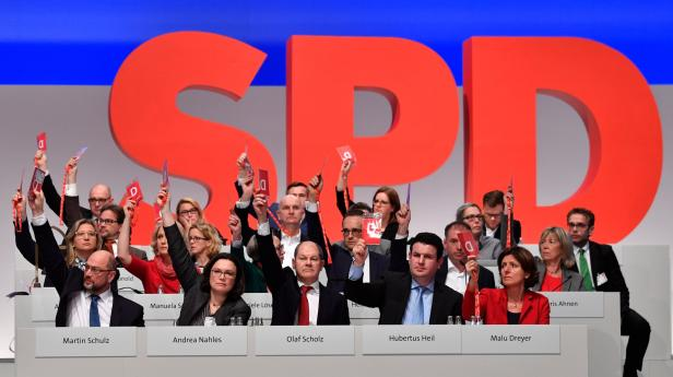GERMANY-POLITICS-SPD-PARTIES