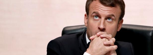 FILE PHOTO: French President Emmanuel Macron atten