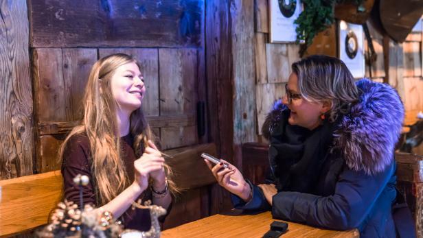 Zoë im Interview mit Lisa Trompisch