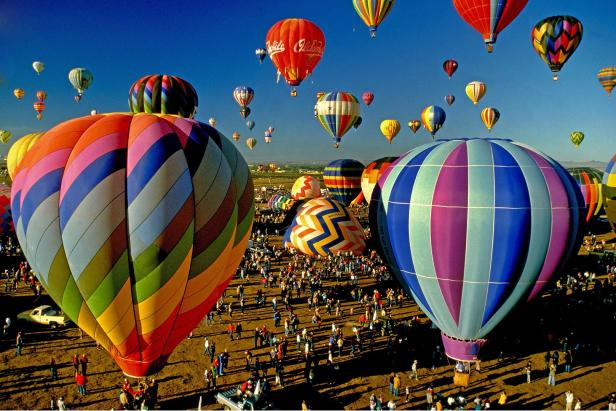 Albuquerque, new mexico, usa, hot air balloon fest…