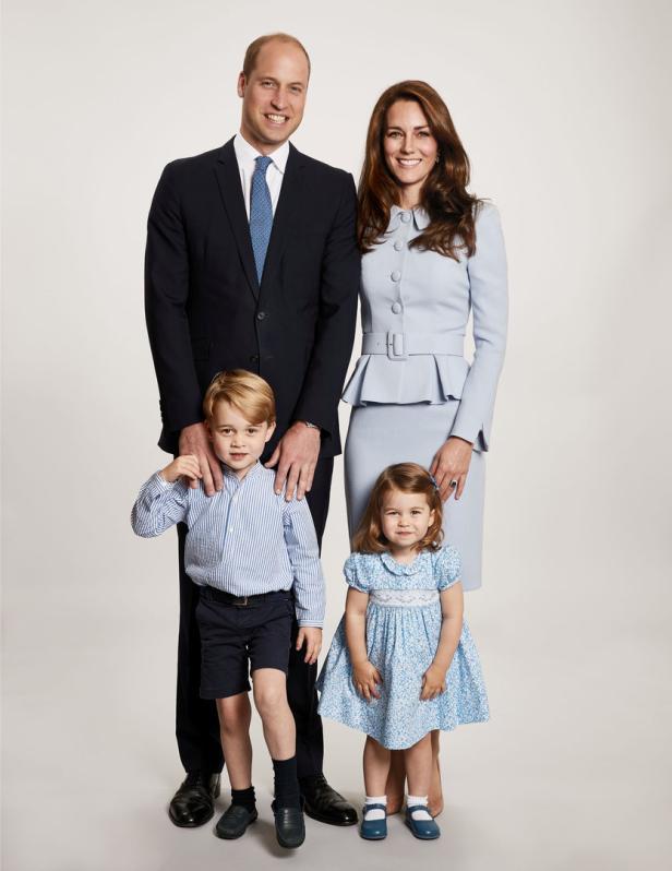 Britain's Prince William, the Duchess of Cambridge