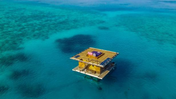 The manta resort…
