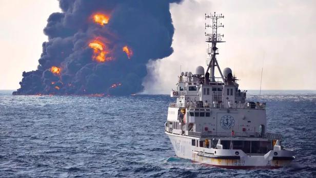 TOPSHOT-CHINA-IRAN-SHIPPING-ACCIDENT