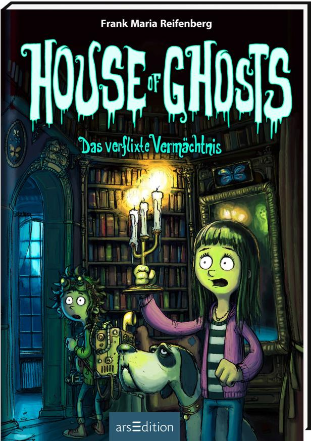 """Buchcover """"House of Ghosts"""""""