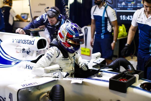 Sirotkin wird in der kommenden Saison ins Cockpit klettern.