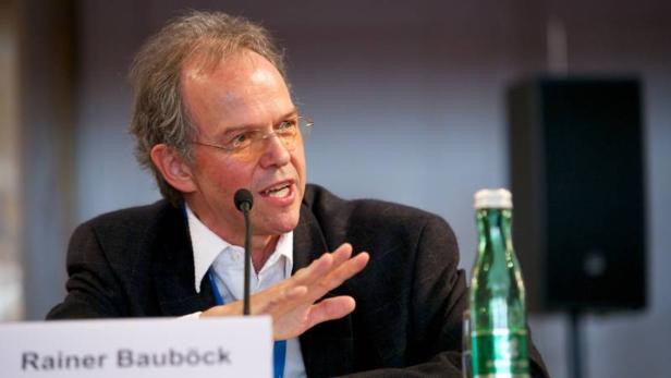 Rainer Bauböck, Migrationsexperte, Europäisches Ho…