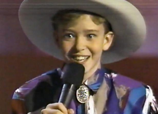 Justin Timberlake bei Star Search…