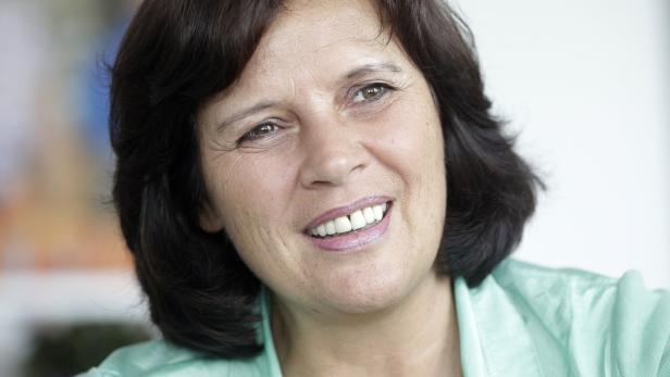 Der Öffentlichkeit weniger bekannt: Renate Anderl